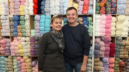 Debby and Daren Cloud, owners of the Wool Baa, are moving into the old Post Office building Picture: