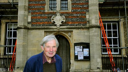 Martin Lightfoot, chairman of the Bury St Edmunds Heritage Trust which runs the Guildhall, pictured