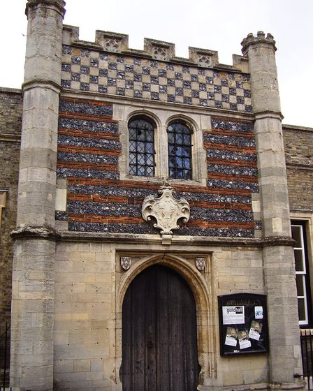 The Guildhall's porch Picture: SUPPLIED