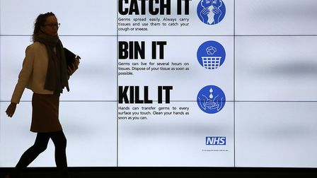 The number of cases of Coronavirus in the UK has gone up Picture: Philip Toscano/PA Wire
