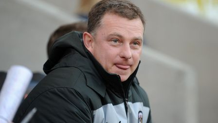Coventry City manager Mark Robins. Picture: PA SPORT