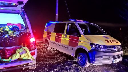 It took the emergency services three hours to rescue the four children from the mud. Picture: HOLBRO