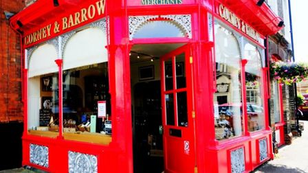 Corney and Barrow wine merchants. Picture: DISCOVER NEWMARKET