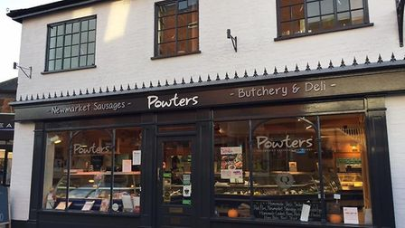 Powters Butchers in Newmarket. Picture: DISCOVER NEWMARKET