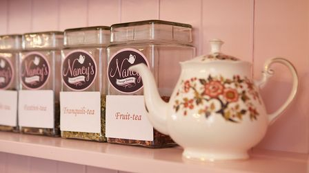 Nancy's Vintage Teashop in Newmarket. Picture: DISCOVER NEWMARKET