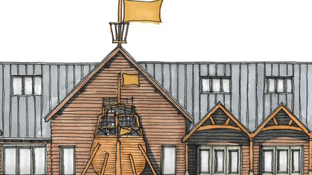 One of the indoor play areas will have a large boat extending from the side Picture: CONTENTSOUP