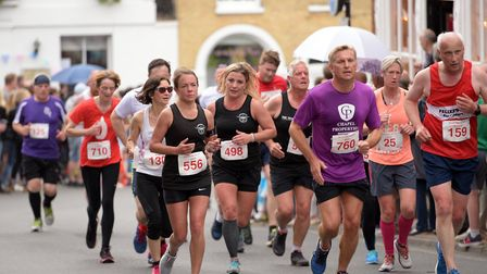 Hundreds of runners took part in last year's Woodbridge 10K Picture: SARAH LUCY BROWN
