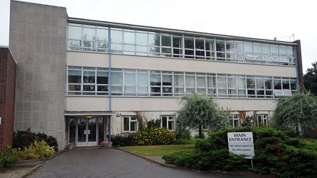 Tours of Bacton Middle School will not happen due to health and safety concerns. Picture: PHIL MORLE