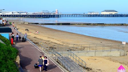 Clacton seafront has seen three teenage deaths in three years Picture: SIMON PARKER