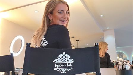 Abi Cutter, co-owner of Lipstick & Locks in Sudbury has been hit with a �4,000 rate increase without