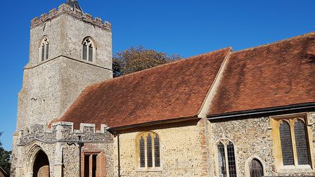 All Saints Church in Little Cornard was targeted twice by thieves in February, days after two men fl