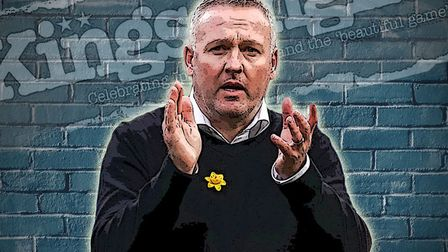 Ipswich Town manager Paul Lambert claps the fans after his side's 1-0 loss to Coventry. Picture: ARC