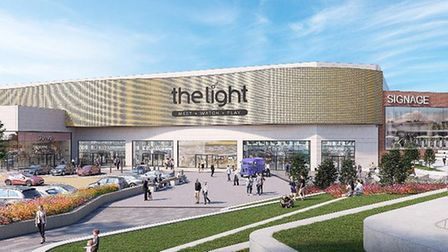 An artist's impression of The Light cinema, which is coming to Tollgate Village leisure and retail p