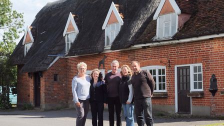 Villagers in Framsden have repeatedly attempted to buy out the pub, including Glenn Buckingham (righ