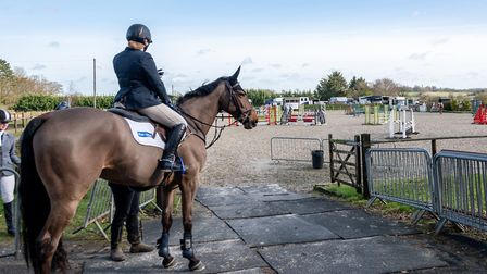 The Jays equestrian centre near Bury St Edmunds is on the market for �1,350,000. Picture: ZOE NAPIE
