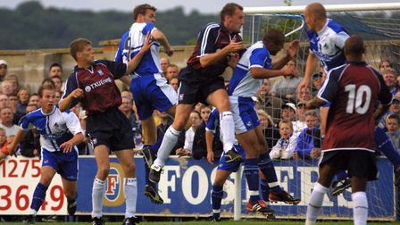 Ipswich Town have never visited the Memorial Stadium for a league match, but they have for an FA Cup