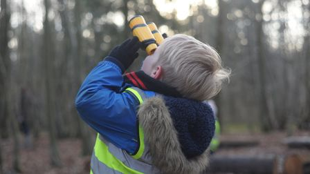 The Little Foresters Pre-school in Onehouse achieved a good Ofsted report Picture: CHARLOTTE BOND