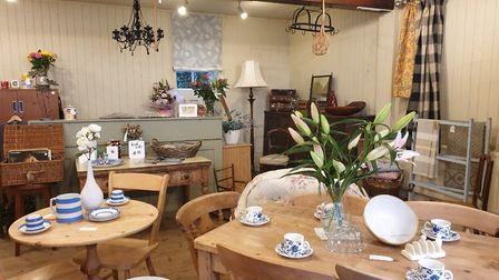 Vintro Interiors sell retro and vintage furniture in Needham Market. They have just moved to a new p