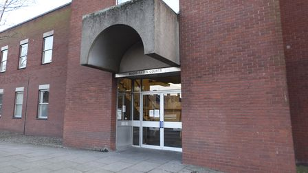 Gary (aka Alan) and Katie Middleton appeared at Suffolk Magistrates' Court Picture: GREGG BROWN