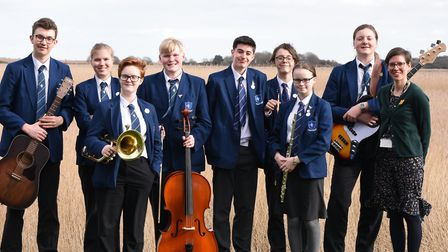 Pakefield High School pupils are among 43 differrent schools taking to the stage at Snape Maltings f