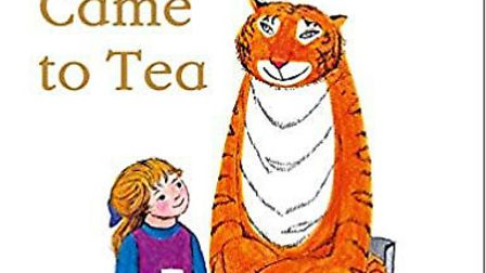 Judith Kerr's hungry tiger has plenty of personality Picture: Harper Collins