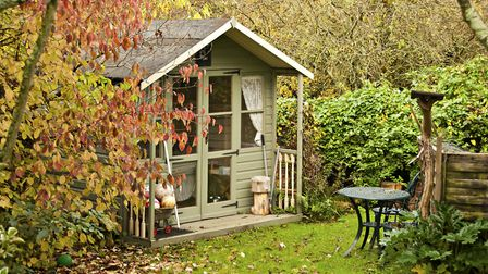 Where you position your garden shed is important