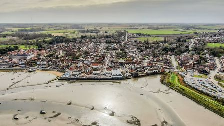 Stunning drone photographs of Manningtree on the River Stour. Picture: SPHO PHOTOGRAPHY/@sphophoto