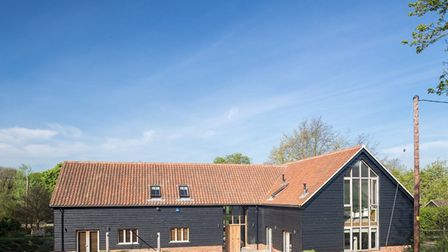 Chapelfield Barn has exposed modern timber which gives a traditional feel Picture: Matt Smith
