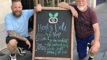 Geoff Bligh and Philip Rivers' business Hank's Deli & Shop in Ipswich is shortlisted for the Best Ne