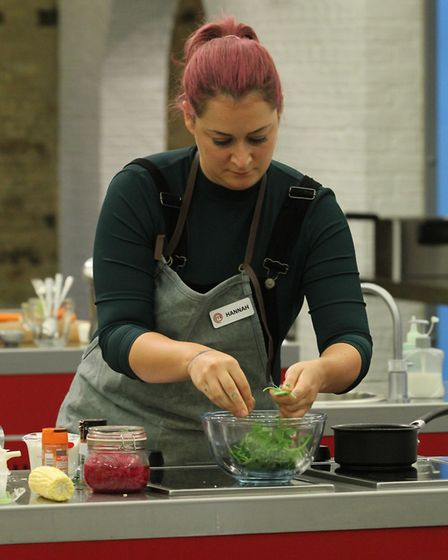 Hannah Gregory left MasterChef on April 1 during Knockout Week Picture: BBC