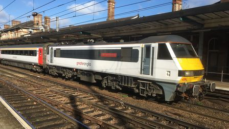 Existing Intercity trains will fall foul of disability legislation after the end of March. Picture: