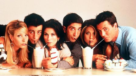 The cast of Friends are getting back together for a one-off special this May. Picture PA Photo/Chann