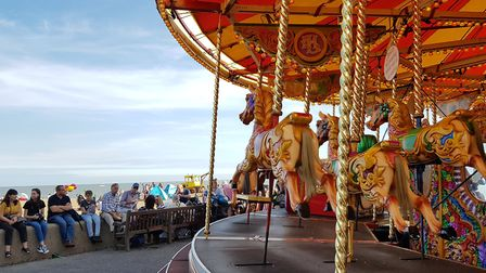 There's uncertainty over the future of the fun fair in Aldeburgh Picture: RACHEL EDGE