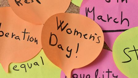International Women's Day is on Sunday, March 8. Picture: Getty Images/iStockphoto