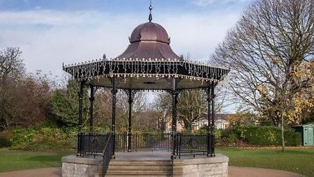 The bandstand along the route of the Dartford parkrun. Picture: ARCHANT