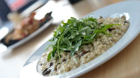 Risotto at Felixstowe's new Italian restaurant, Alba Chiara Picture: SARAH LUCY BROWN