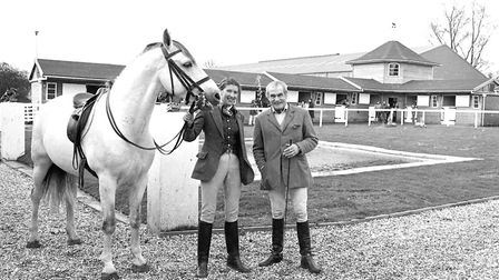 Lord and Lady Loch in Stoke by Clare, at the Equitation Centre in April 1980. Picture: ROGER NEWLIN