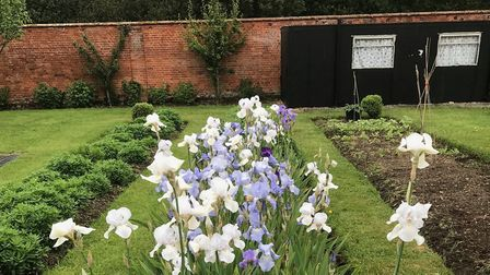 Thornham Walled Garden is about two acres and was originally built to supply fresh fruit, vegetables