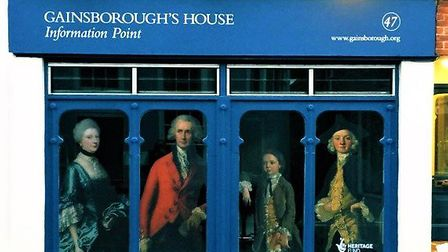 No 47 on Gainsborough Street is now open to the public. Picture: COURTESY OF GAINSBOROUGH'S HOUSE
