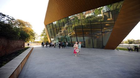 The Firstsite building will host the launch of Some Questions About Colchester on March 13. Picture: