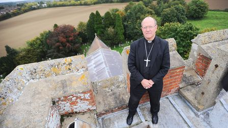 Bishop Martin Seeley is urging parishioners to pray for those affected by the virus Picture: GREGG