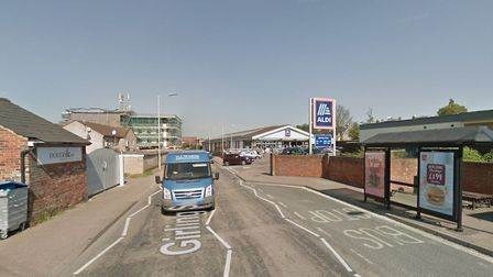 Girling Street in Sudbury where the collision took place. Picture: GOOGLE MAPS