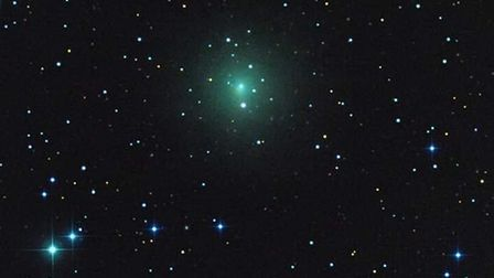 A comet can be seen in the skies over Suffolk this week. Picture: Rolando Ligustri, Italy