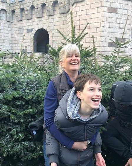 Max, 13, is now attending school in Essex Picture: SUPPLIED BY FAMILY