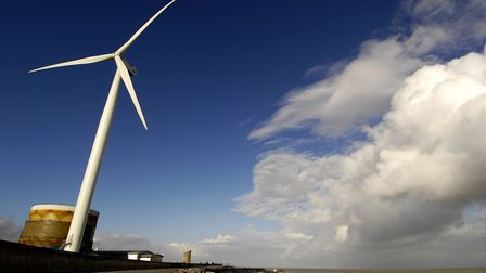 Gulliver, the wind turbine at Ness Point in Lowestoft. Picture: ARCHANT LIBRARY
