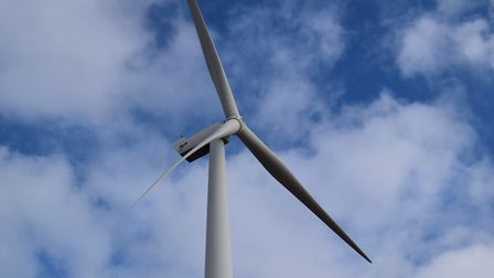 The Gulliver wind turbine has not turned since before Christmas. Picture: ARCHANT LIBRARY