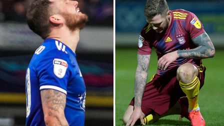 Manager Paul Lambert has said James Norwood is struggling for confidence. Picture: ARCHANT