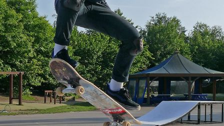The hope is that a new skatepark will encourage more users. Picture: ALAN MARSH