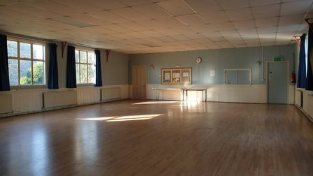 The interior of the present St Michael's Rooms building Picture: ARCHANT