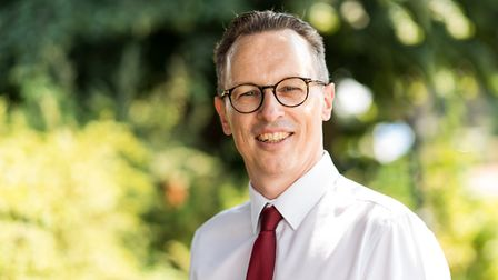 Stuart Richardson chief operating officer at the Norfolk and Suffolk NHS Foundation Trust (NSFT), sa